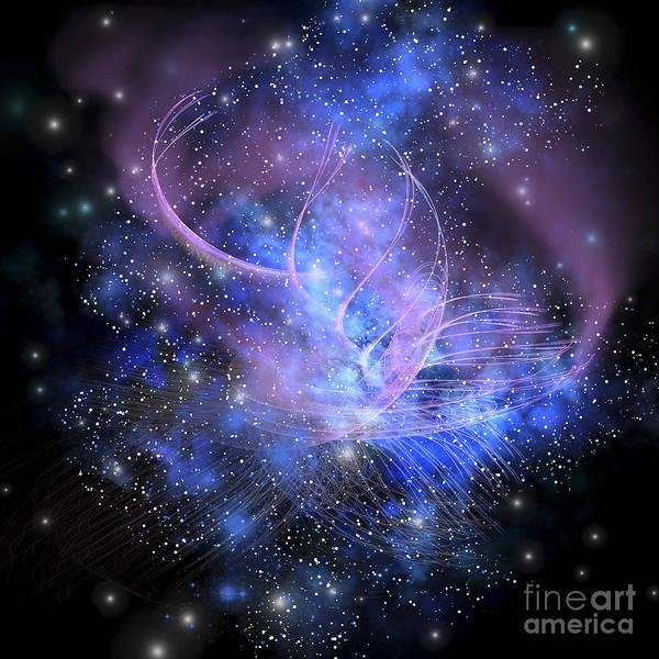 A Spacial Phenomenon In The Cosmos Poster