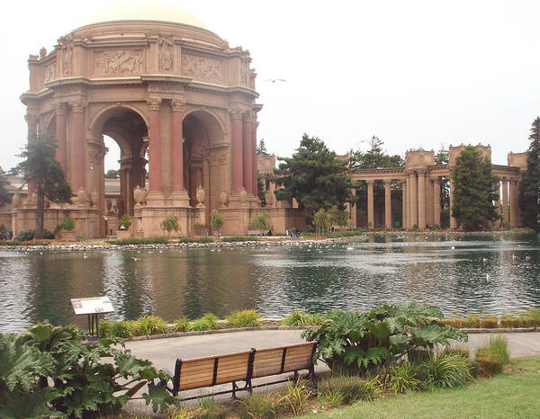 A View Of Palace Of Fine Arts Theatre San Francisco No One Poster
