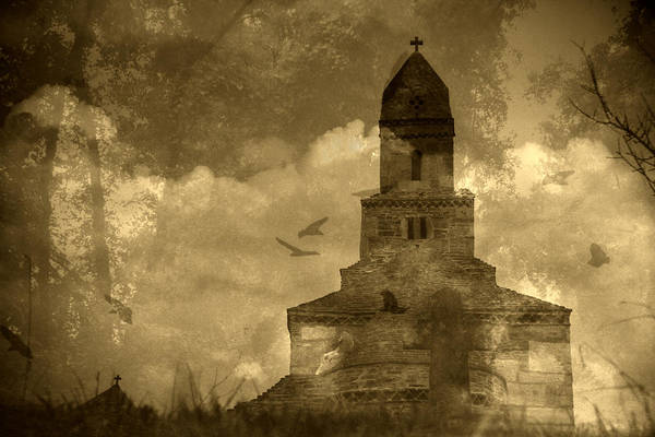 Poster featuring the photograph Abandoned Church by Emanuel Tanjala
