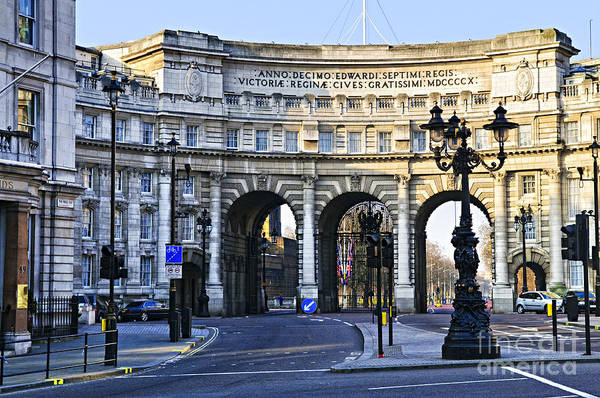 Admiralty Arch In Westminster London Poster