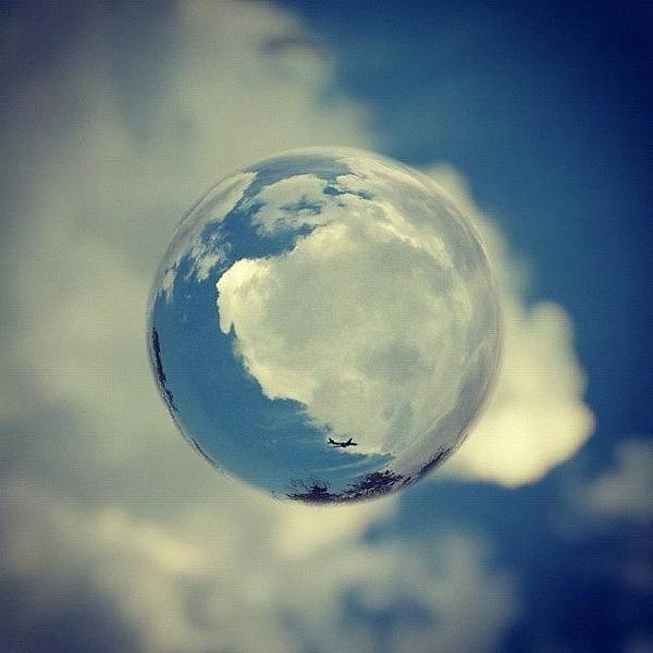 #airplane #sky #skyporn #clouds Poster