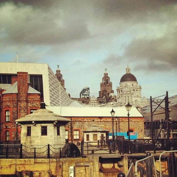 #albertdock #liverpool #city #uk Poster