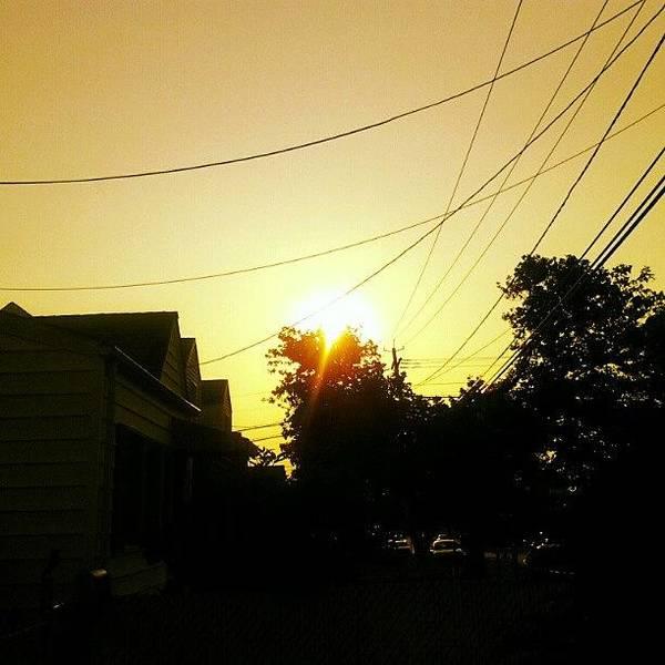 Amazing Like Always! #sun #sunset Poster