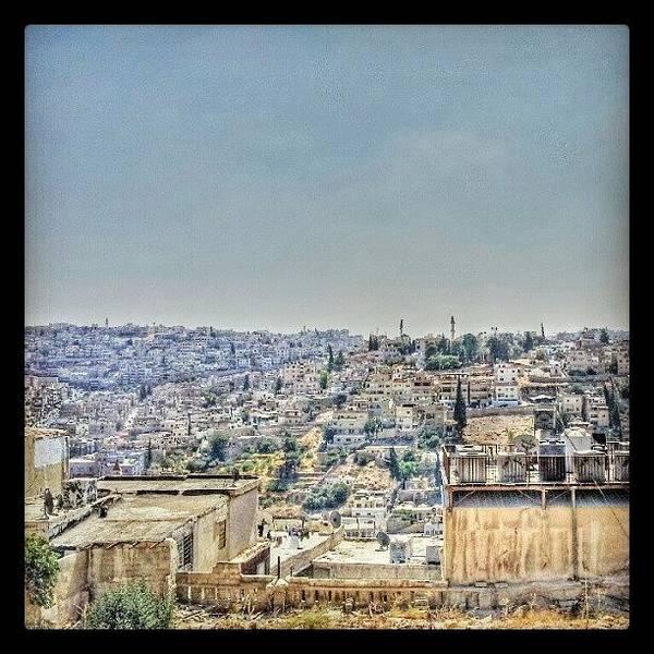 Amman Down Town, #downtown #city Poster