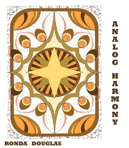Analog Harmony Poster