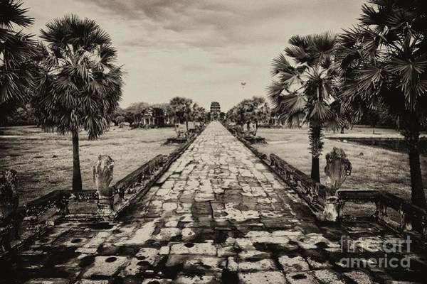 Poster featuring the photograph Angkor Wat Causeway by Kate McKenna