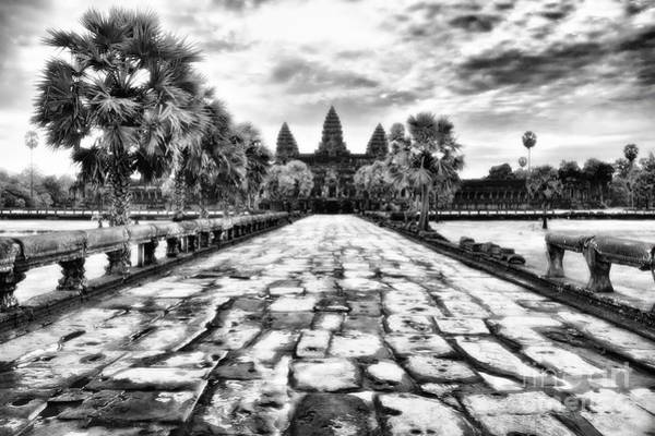 Poster featuring the photograph Angkor Wat by Kate McKenna