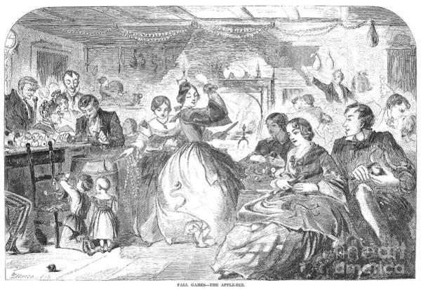 Apple Bee, 1859 Poster