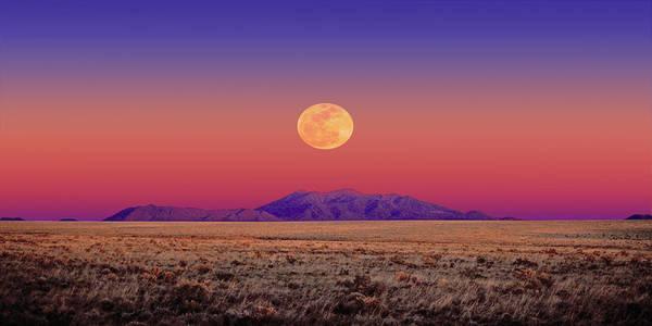 Arizona Full Moon Poster