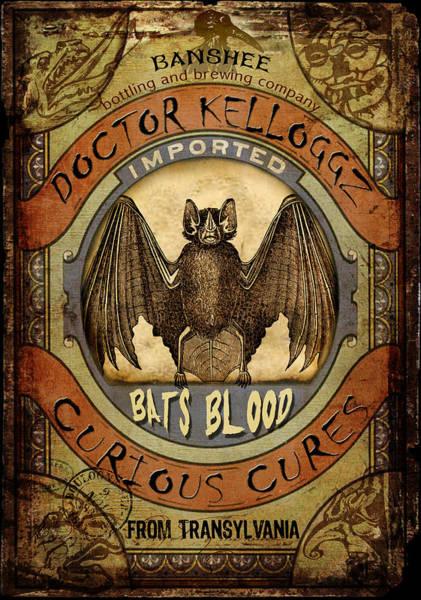 Bats Blood Poster