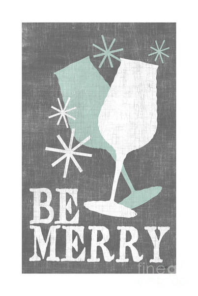 Be Merry Poster