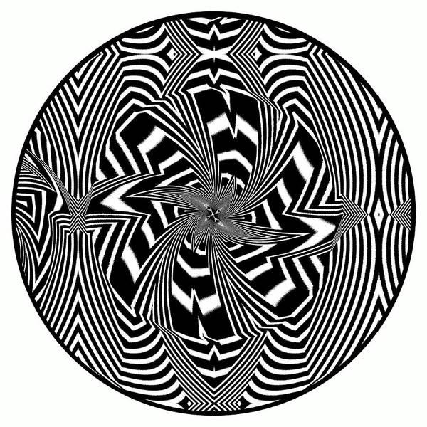 Poster featuring the digital art Black Flower by Visual Artist Frank Bonilla