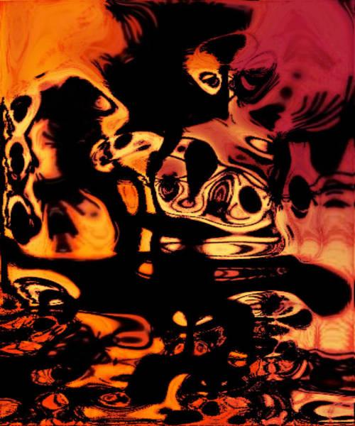 Blasphemy Swirls Poster