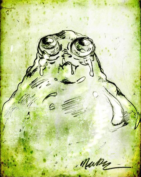 Blob Monster Poster