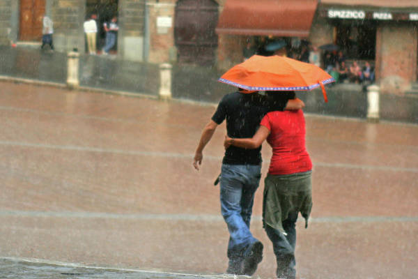 Braving The Rain Poster