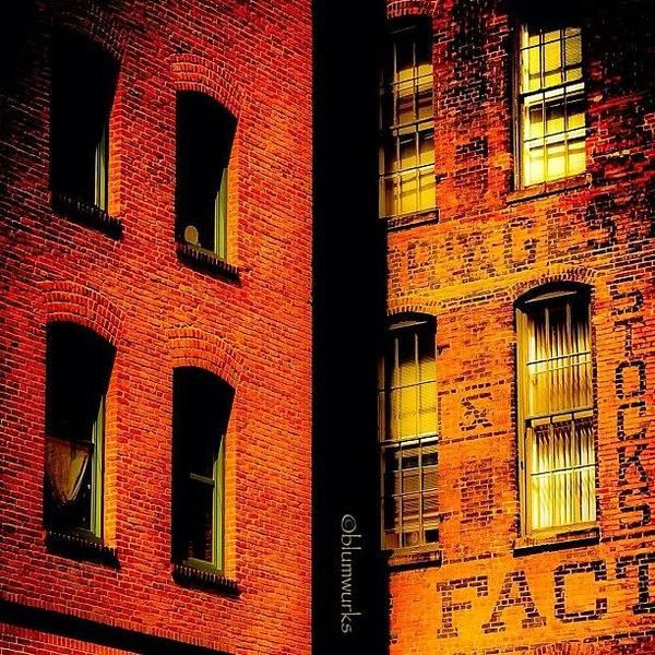 Brick & Glass Poster