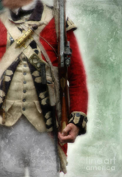 British Soldier From Amerian Revolution Poster