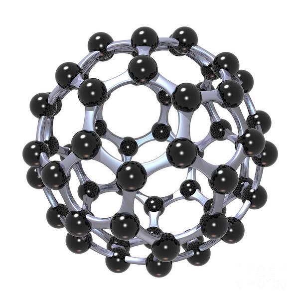 Buckminsterfullerene Or Buckyball C60 18 Poster