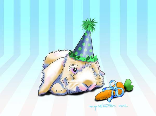 Bunny Present Poster