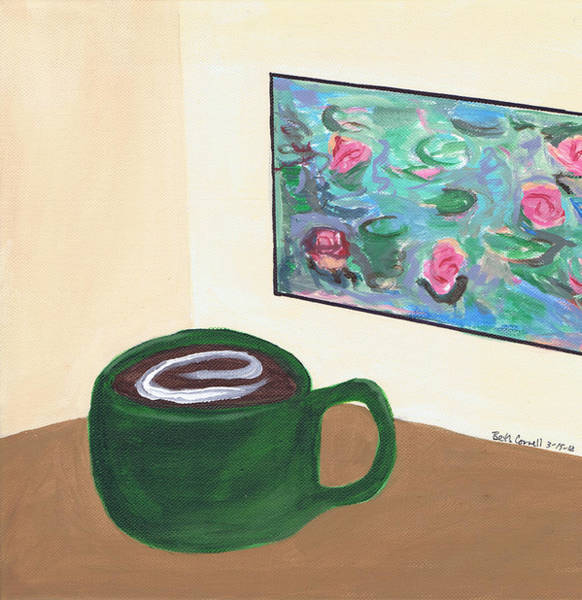 Cafe Monet Poster