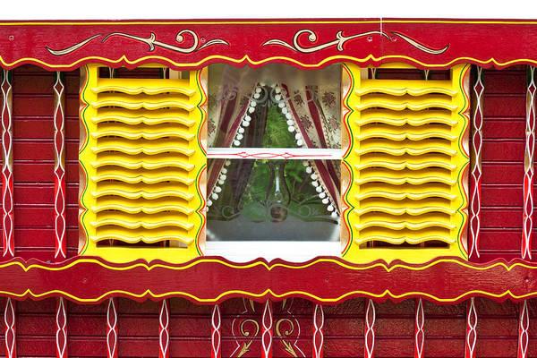 Caravan Window Poster