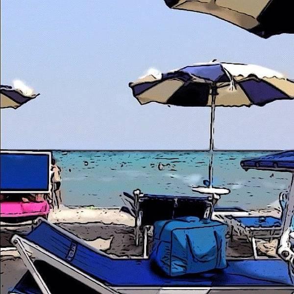 Cartoon Beach! #poetto#cagliari Poster