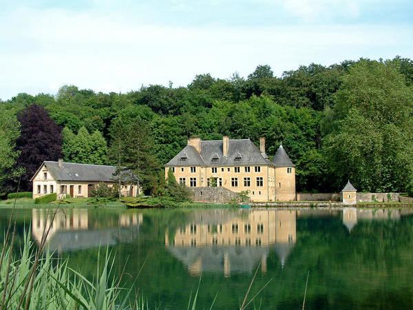 Chateau Du Lac Orval Belgium Poster