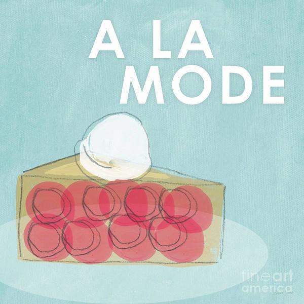 Cherry Pie A La Mode Poster