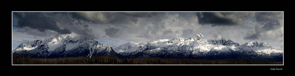 Chugach Mountains Poster