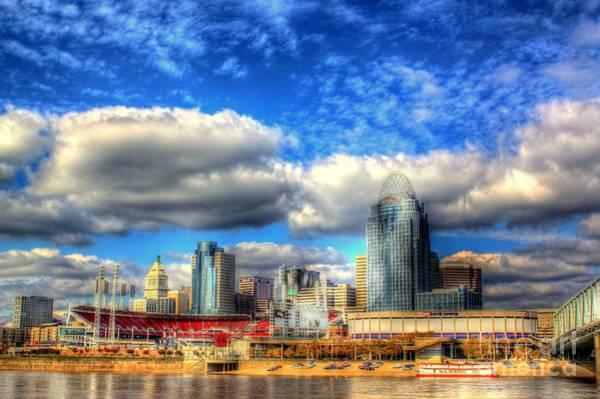 Cincinnati Skyline 2012 - 2 Poster