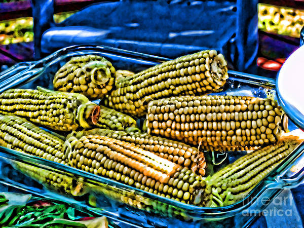 Corn On The Cob Up A Notch Poster