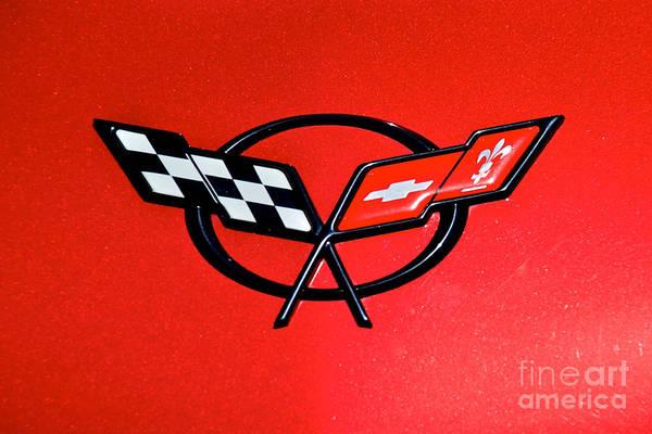 Corvette Logo Poster