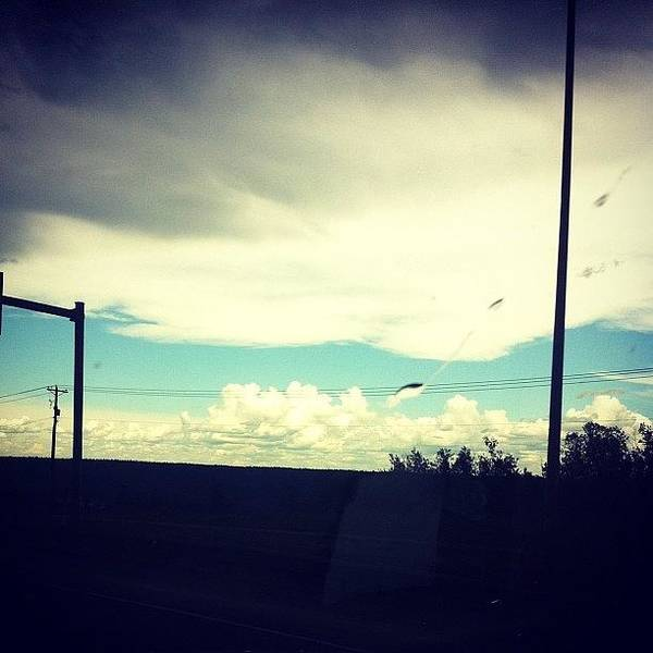 #crazyweather #clouds #cloudporn #sky Poster