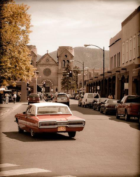 Santa Fe, New Mexico - Cruising Santa Fe Poster
