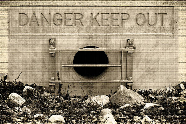 Danger  Keep Out Poster