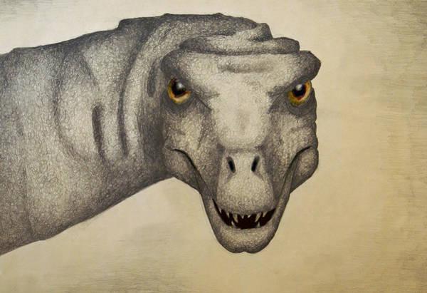 Dino Sketch Poster