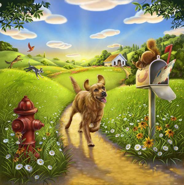 Dog Heaven Poster