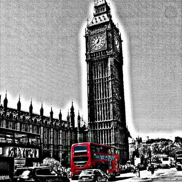 Edited Photo, May 2012 | #london Poster