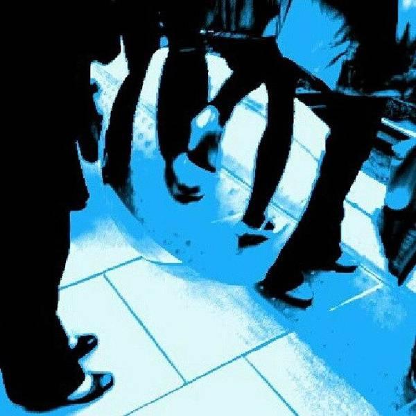 #effect #pop #art #blue #cartoon Poster