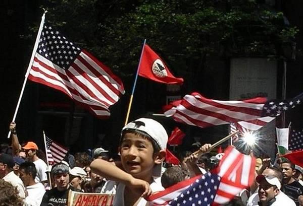 Enthusiastic Patriotism Poster