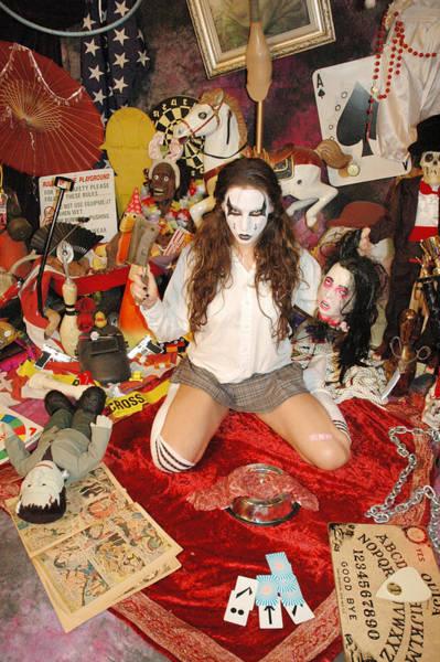 Evil Schoolgril - On Her Knees Poster