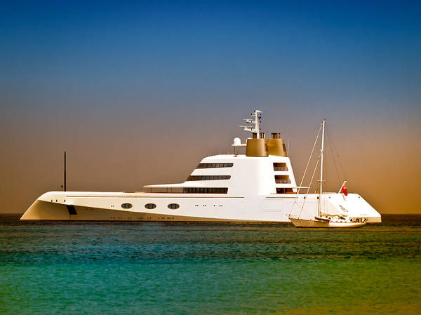 Exotic Yacht Poster