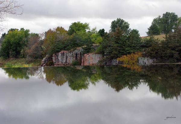 Fall Scene At Split Rock State Park Poster