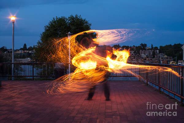 Fiery Dancer Poster