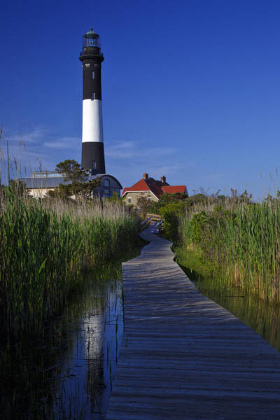 Fire Island Reflection Poster