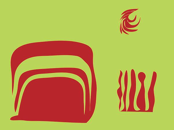 Fire Spirit Cave Poster