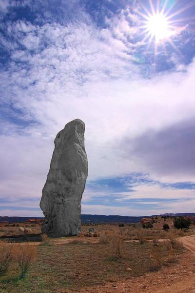 Flat Chimney Rock Poster