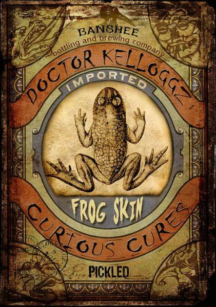 Frog Skin Poster
