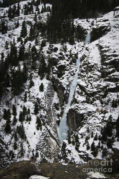 Frozen Waterfall Poster