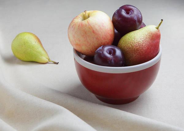 Fruit Bowl Still Life Poster